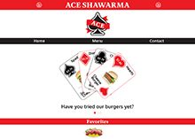 Ace Shawarma Website