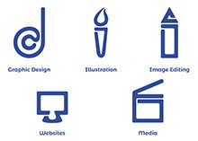 Point Design Agency Icons