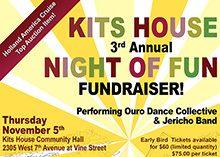 Kitsilano Neighbourhood House Poster
