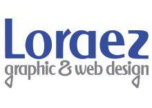 Loraez Graphic & Web Design Logo