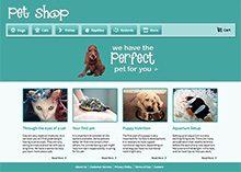 Pet Shop Store Website