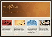RusMexInvest Website